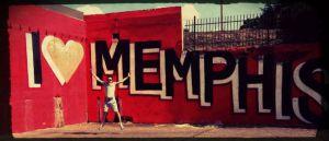 I Love Memphis Mural