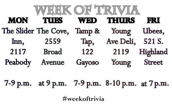 Elle Perry is taking Memphis trivia by storm THIS week! Up to the challenge? Join the fun!